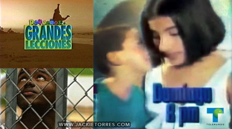 """TV Series """"Pequeños…Grandes Lecciones"""""""