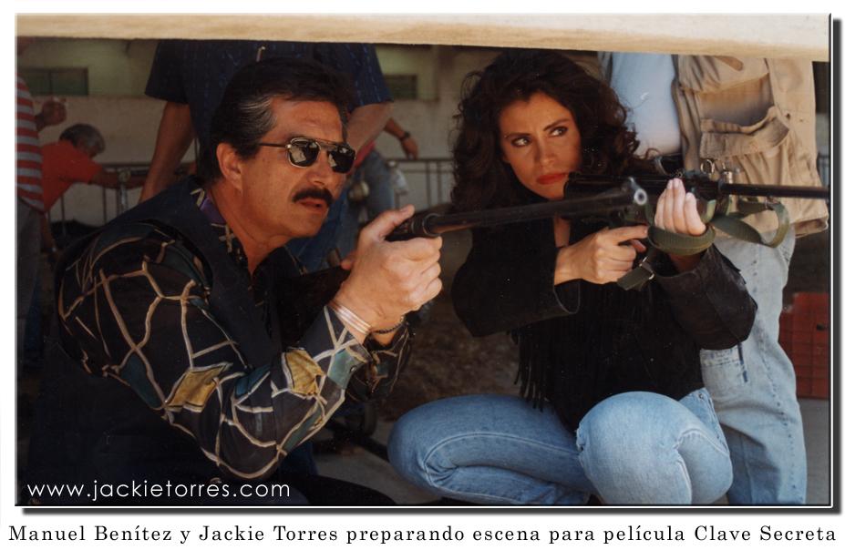 "Jackie Torres & Manuel Benitez on film ""Clave Secreta"""