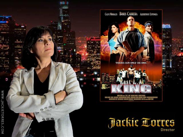 """Jackie Torres es la directora de la película """"East LA King"""""""
