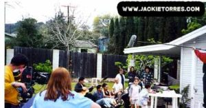 """Jackie Torres directing """"The Price of the American Dream"""