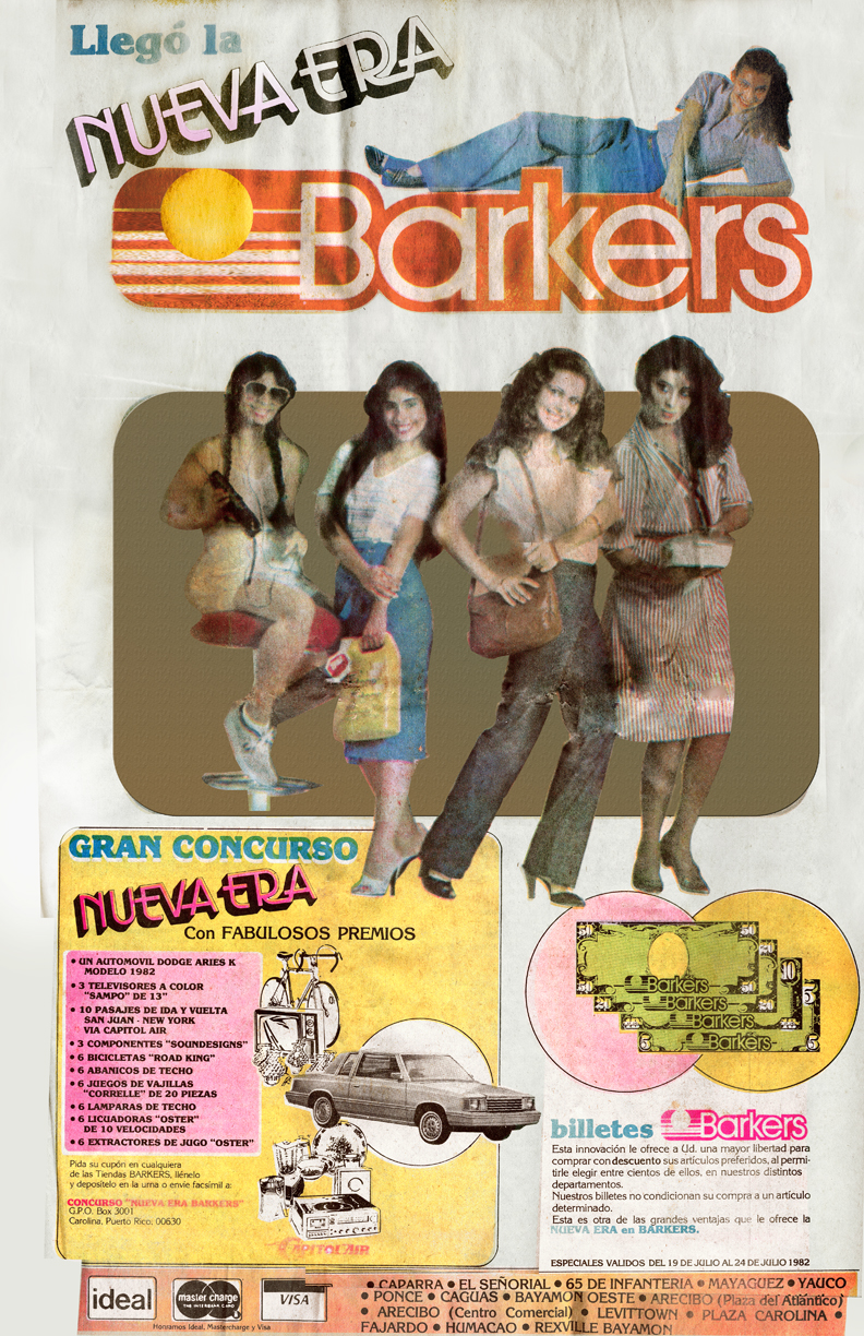 Jackie Torres, Janet Torres & Nirita Ruiz in TV commercial for Barkers
