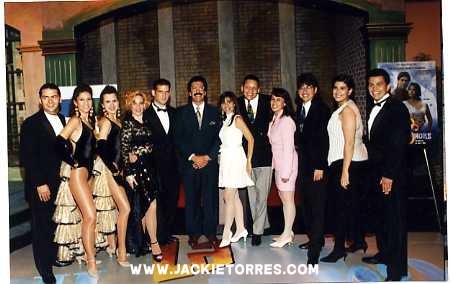 "TV Show ""La Hora Lunática"" produced by Jackie Torres - cast & crew"