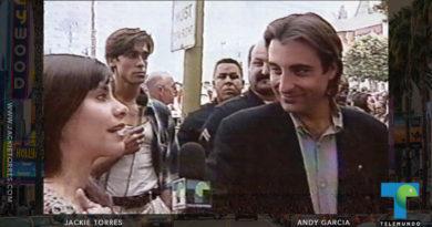 Jackie Torres interviews Andy Garcia